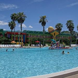 5 of 8: Disney's All Star Music Resort - The Calypso Pool