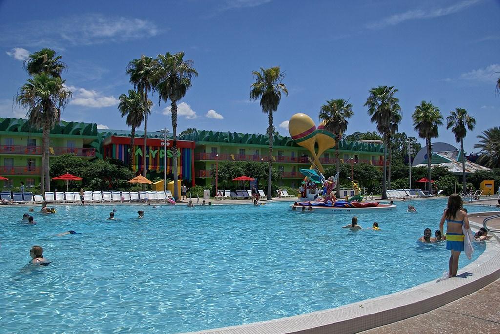 All Star Music Resort pools