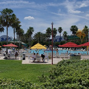 6 of 8: Disney's All Star Music Resort - The Calypso Pool