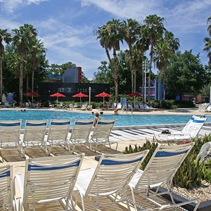 8 of 8: Disney's All Star Music Resort - The Piano Pool
