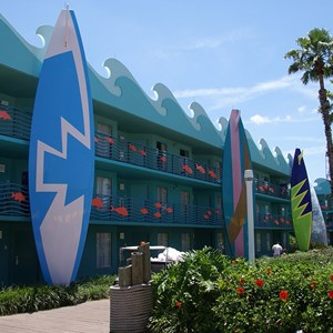 2 of 3: Disney's All Star Sports Resort - Surfs Up buildings