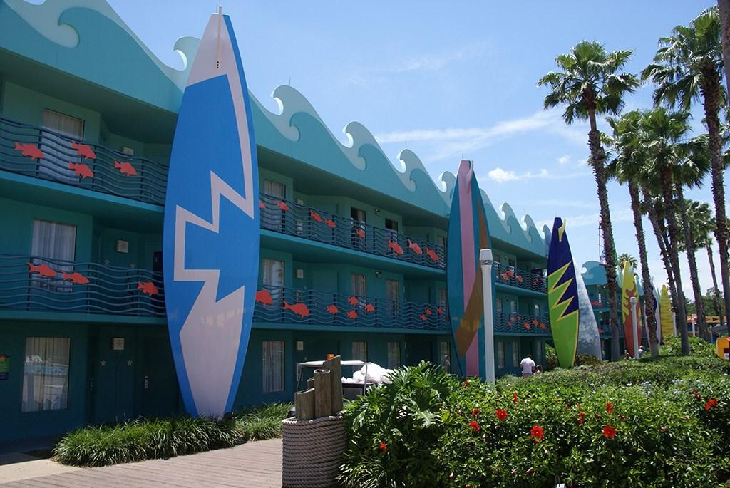 Surfs Up buildings