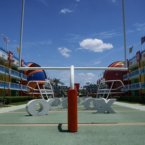 2 of 6: Disney's All Star Sports Resort - Touchdown buildings