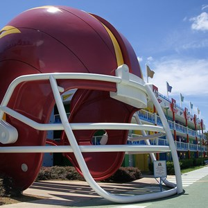 6 of 6: Disney's All Star Sports Resort - Touchdown buildings