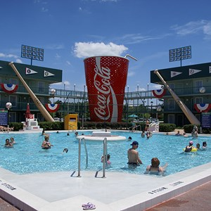 2 of 5: Disney's All Star Sports Resort - Homerun Hotel buildings