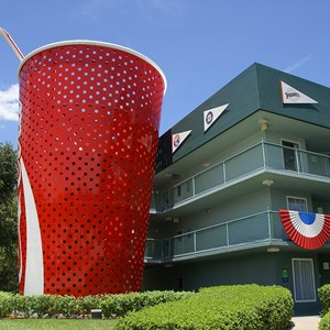5 of 5: Disney's All Star Sports Resort - Homerun Hotel buildings