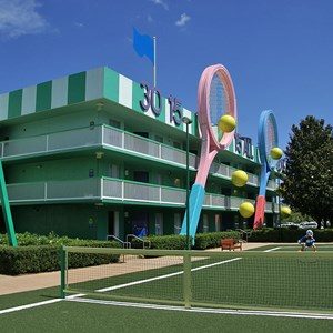 2 of 4: Disney's All Star Sports Resort - Center Court buildings