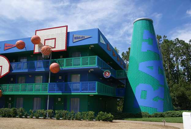 Hoops Hotel buildings