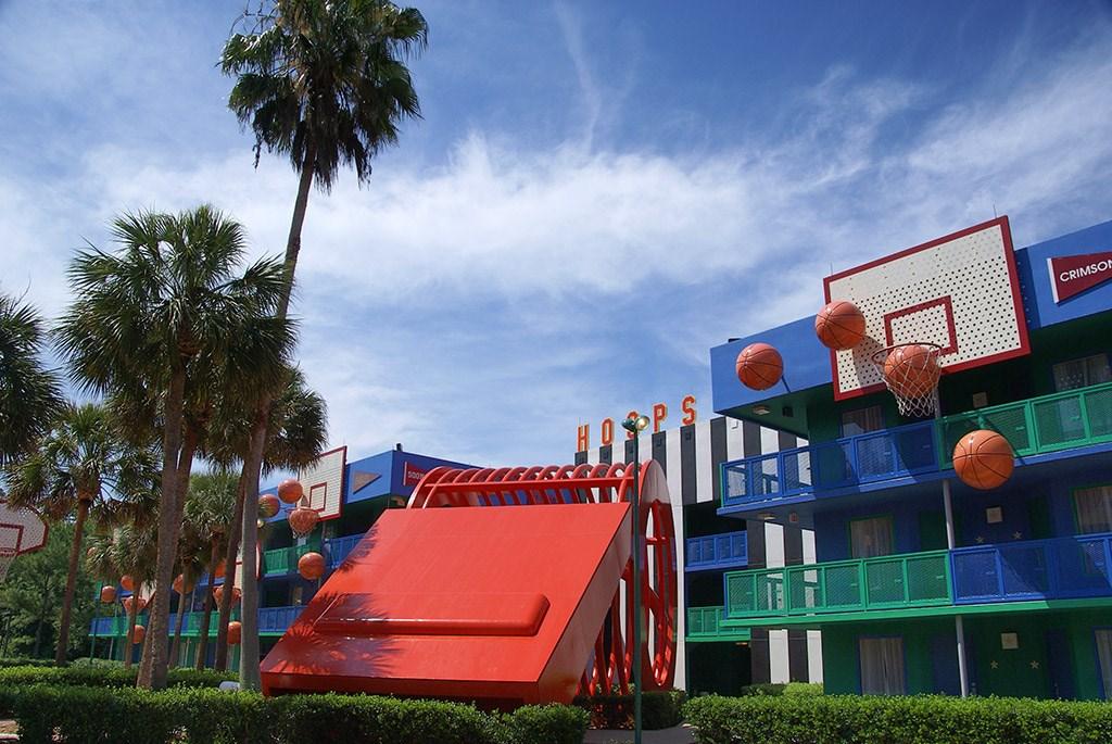 Hoops Hotel buildings