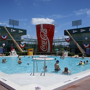 1 of 2: Disney's All Star Sports Resort - Grand Slam pool