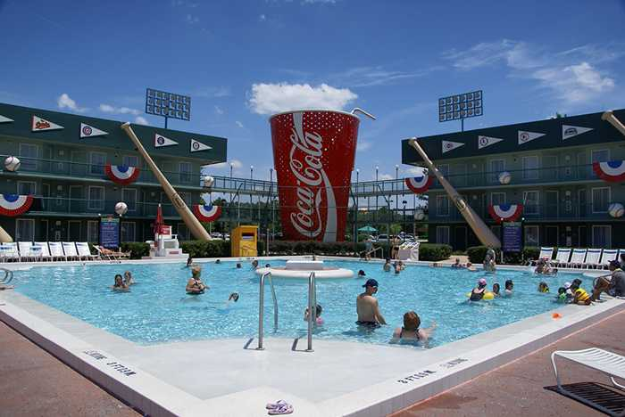 All Star Sports Resort pools