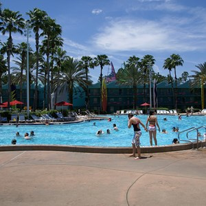 2 of 2: Disney's All Star Sports Resort - Surfboard Bay pool