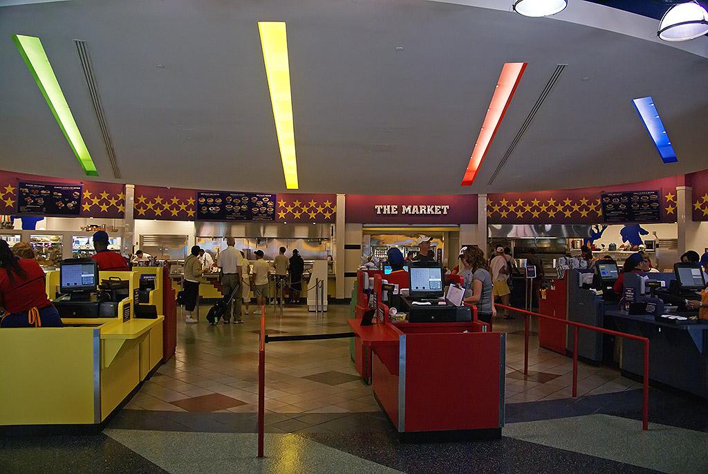 Disney All Star Sports Resort Food Court Menu