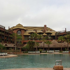 125 of 206: Disney's Animal Kingdom Lodge - Animal Kingdom Lodge preview weekend tour