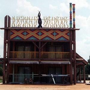 2 of 3: Disney's Animal Kingdom Lodge - Animal Kingdom Lodge test construction site
