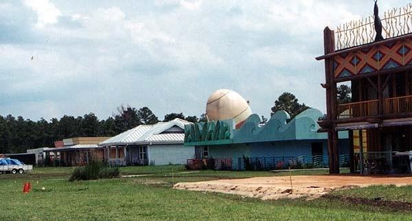 Animal Kingdom Lodge test construction site