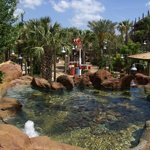2 of 9: Disney's Animal Kingdom Lodge - Kidani Village - Kidani Village pool area