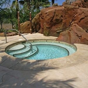 3 of 9: Disney's Animal Kingdom Lodge - Kidani Village - Kidani Village pool area