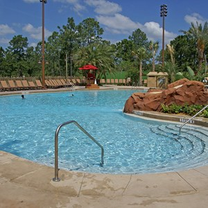 4 of 9: Disney's Animal Kingdom Lodge - Kidani Village - Kidani Village pool area