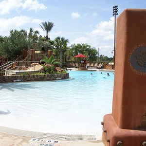 5 of 9: Disney's Animal Kingdom Lodge - Kidani Village - Kidani Village pool area