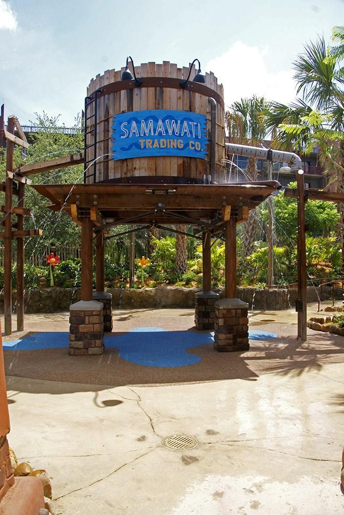 Kidani Village pool area