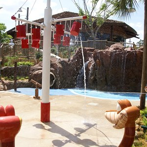 9 of 9: Disney's Animal Kingdom Lodge - Kidani Village - Kidani Village pool area