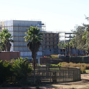 11 of 16: Disney's Animal Kingdom Lodge - Kidani Village - Kidani Village construction