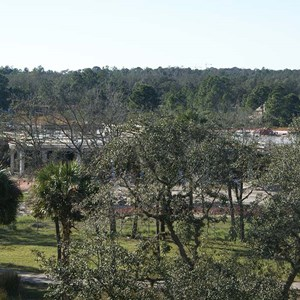 14 of 16: Disney's Animal Kingdom Lodge - Kidani Village - Kidani Village construction