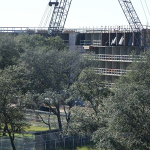 15 of 16: Disney's Animal Kingdom Lodge - Kidani Village - Kidani Village construction
