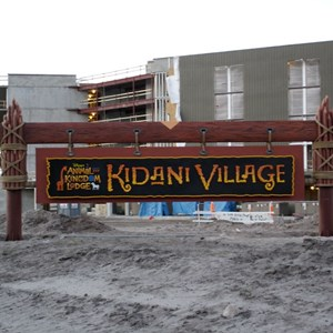 7 of 14: Disney's Animal Kingdom Lodge - Kidani Village - Kidani Village construction