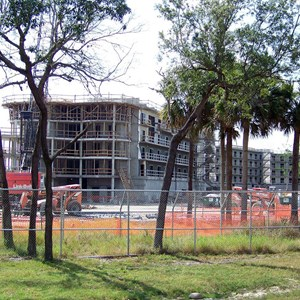 6 of 8: Disney's Animal Kingdom Lodge - Kidani Village - Kidani Village construction