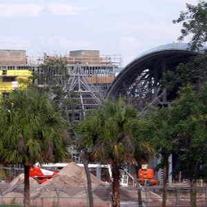 2 of 6: Disney's Animal Kingdom Lodge - Kidani Village - Kidani Village construction