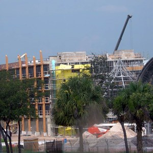 4 of 6: Disney's Animal Kingdom Lodge - Kidani Village - Kidani Village construction