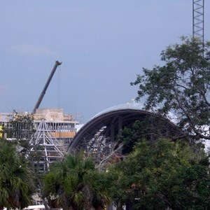 5 of 6: Disney's Animal Kingdom Lodge - Kidani Village - Kidani Village construction