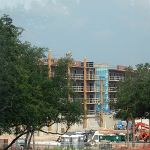 6 of 6: Disney's Animal Kingdom Lodge - Kidani Village - Kidani Village construction