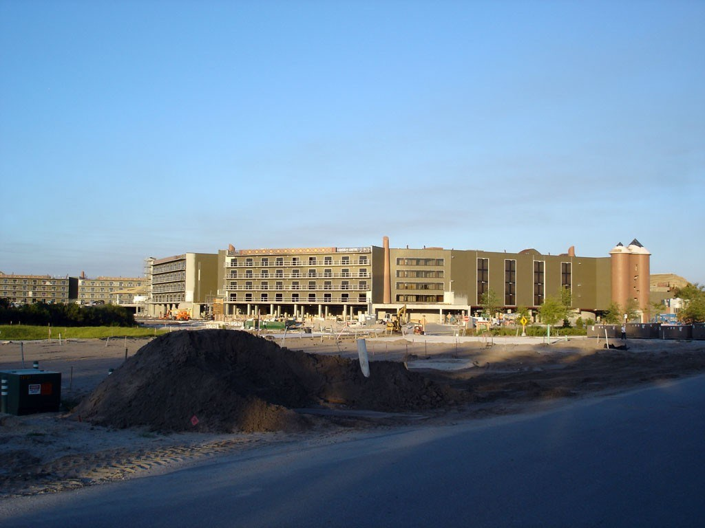 Kidani Village construction