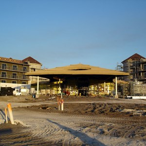 8 of 24: Disney's Animal Kingdom Lodge - Kidani Village - Kidani Village construction