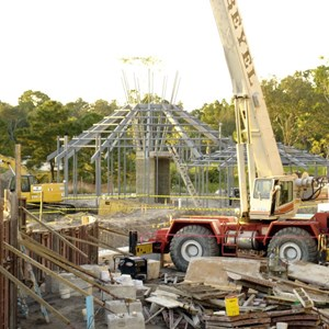 17 of 24: Disney's Animal Kingdom Lodge - Kidani Village - Kidani Village construction