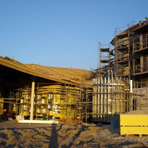 21 of 24: Disney's Animal Kingdom Lodge - Kidani Village - Kidani Village construction