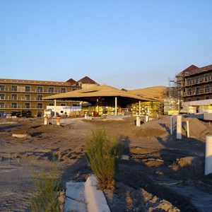 22 of 24: Disney's Animal Kingdom Lodge - Kidani Village - Kidani Village construction