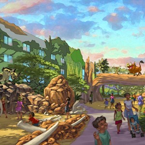 1 of 3: Disney's Art of Animation Resort - Concept Art