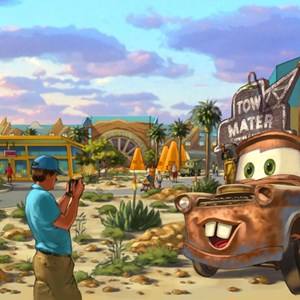 2 of 3: Disney's Art of Animation Resort - Concept Art