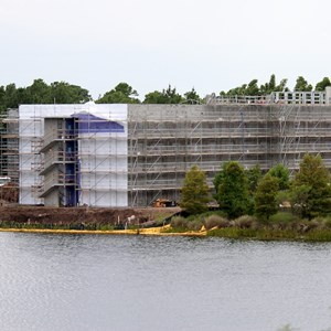 9 of 18: Disney's Art of Animation Resort - Construction site