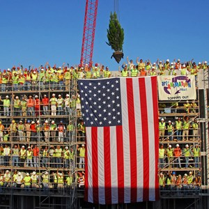 1 of 1: Disney's Art of Animation Resort - Topping Off ceremony