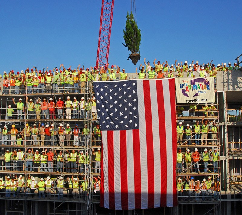 Topping Off ceremony