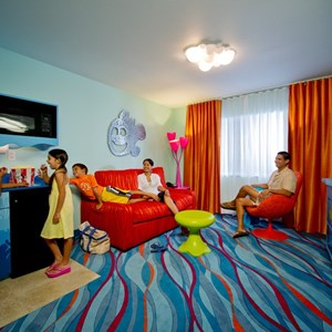 1 of 6: Disney's Art of Animation Resort - Inside the Disney Story Room family suites