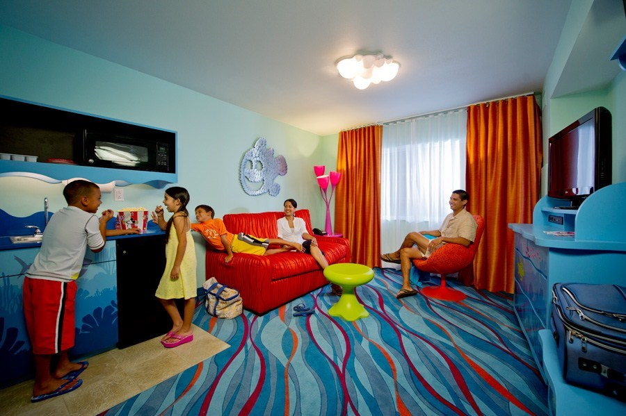 Inside the Disney Story Room family suites