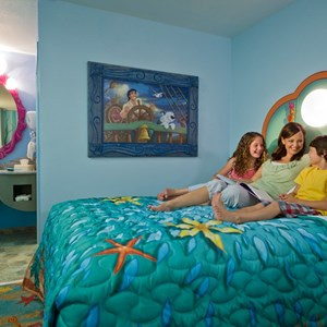 2 of 6: Disney's Art of Animation Resort - Inside the Disney Story Room family suites