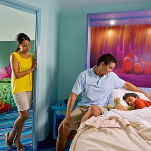 3 of 6: Disney's Art of Animation Resort - Inside the Disney Story Room family suites