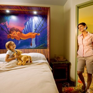 4 of 6: Disney's Art of Animation Resort - Inside the Disney Story Room family suites